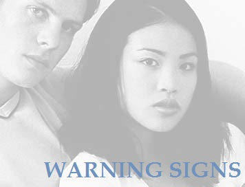 Warning Sign Couple